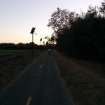 Radtour zurück